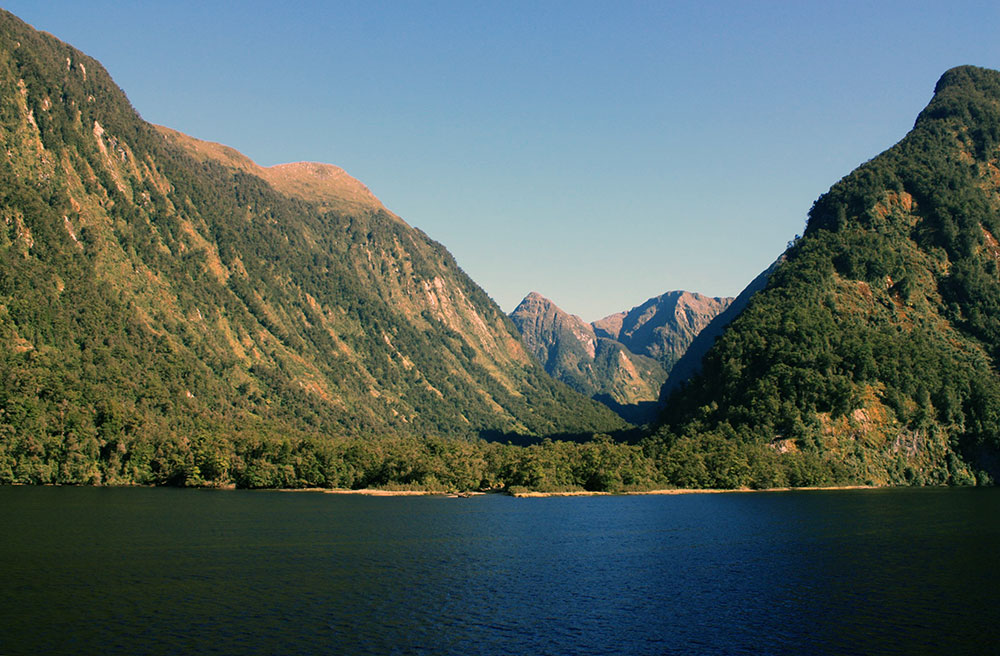 Doubtful Sound from lake level