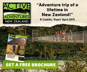 Active Adventures New Zealand